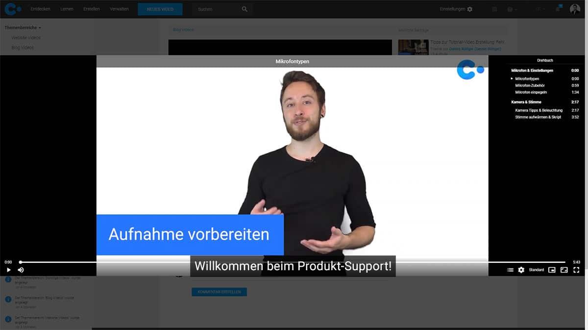 Kundenservice Videos erstellen