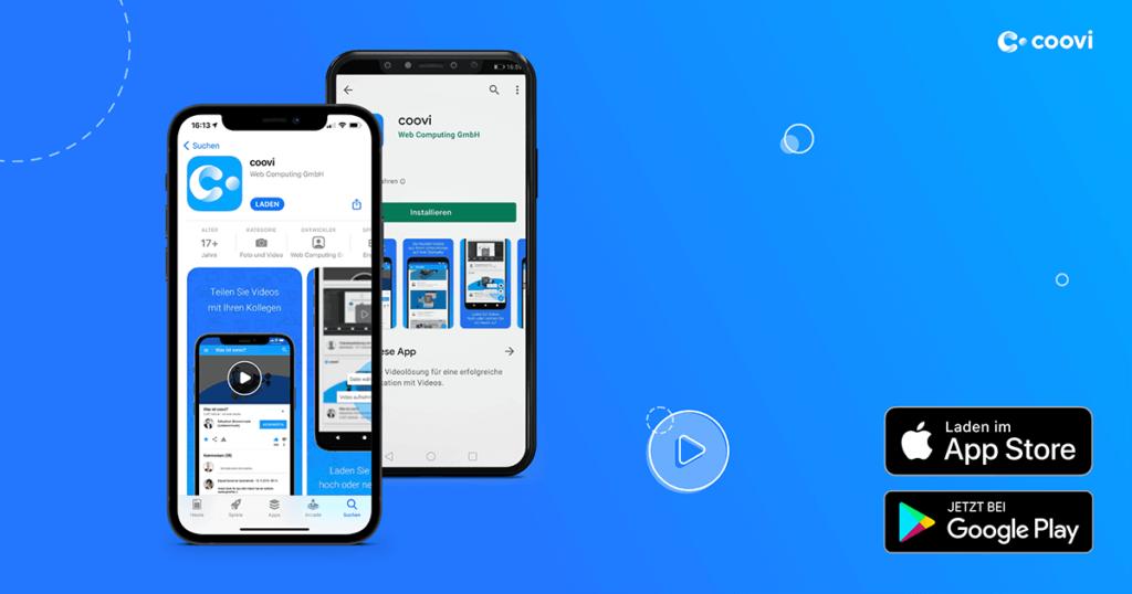 coovi App für iOS und Android